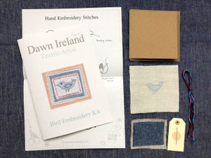 Bird Embroidery Kit