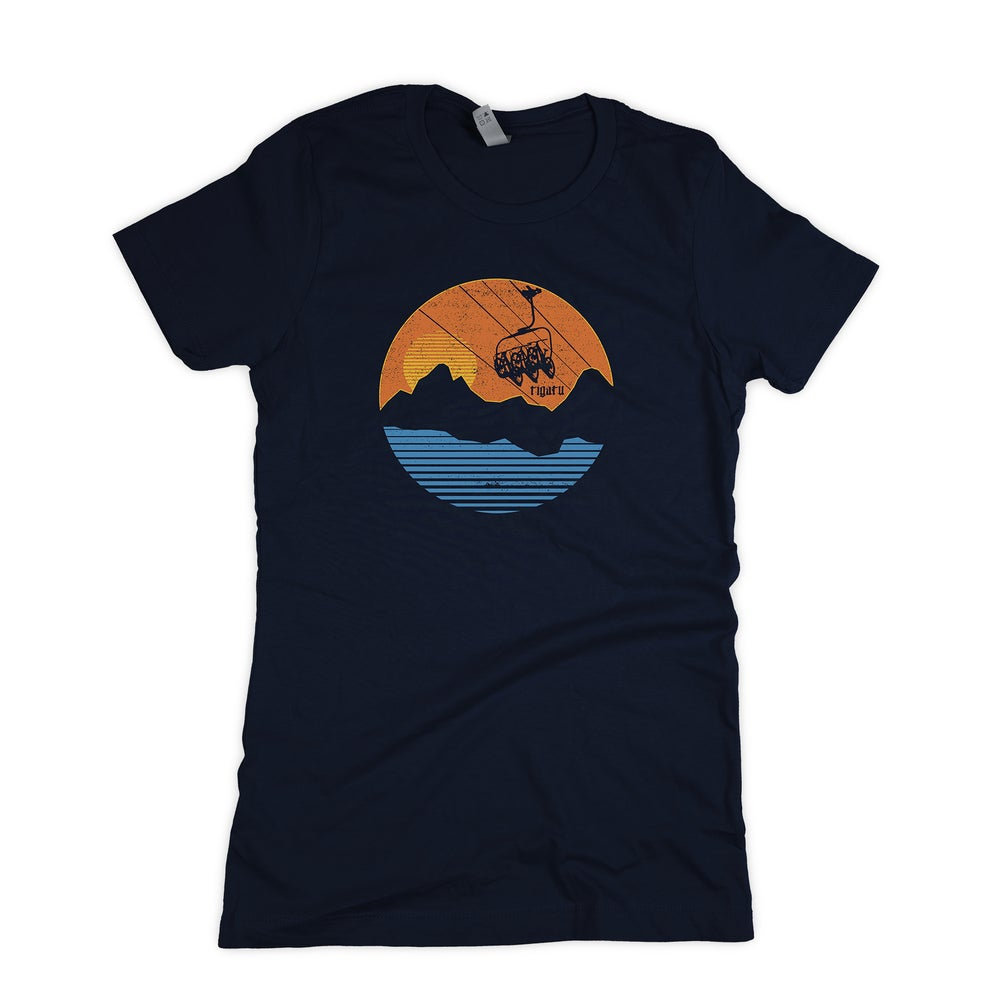 "Image of ""Chairlifted"" Women's - Midnight Navy"