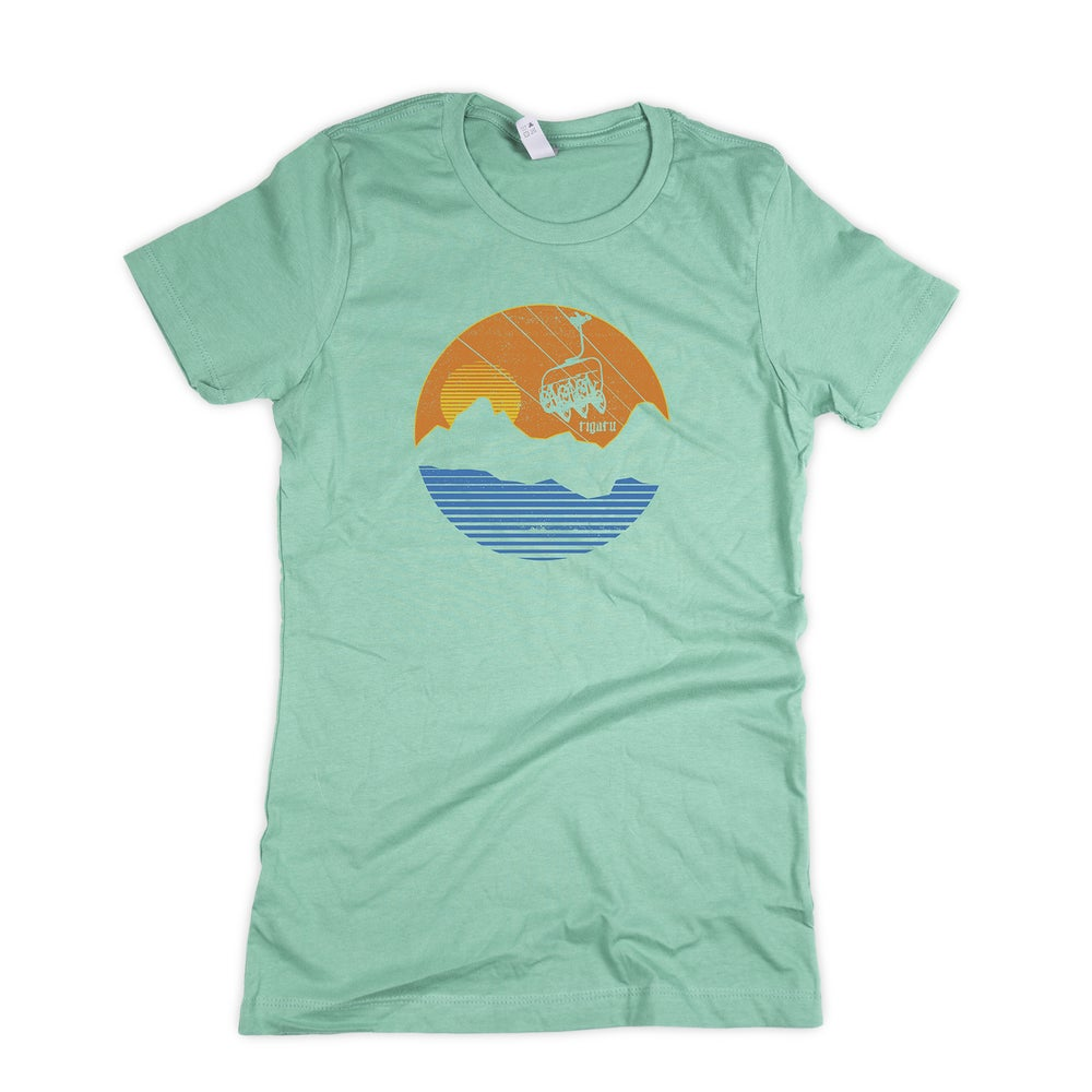 "Image of ""Chairlifted"" Women's - Mint"