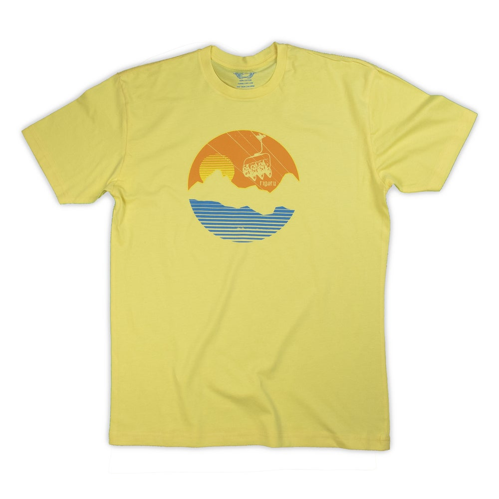 "Image of ""Chairlifted"" Men's - Banana Cream"