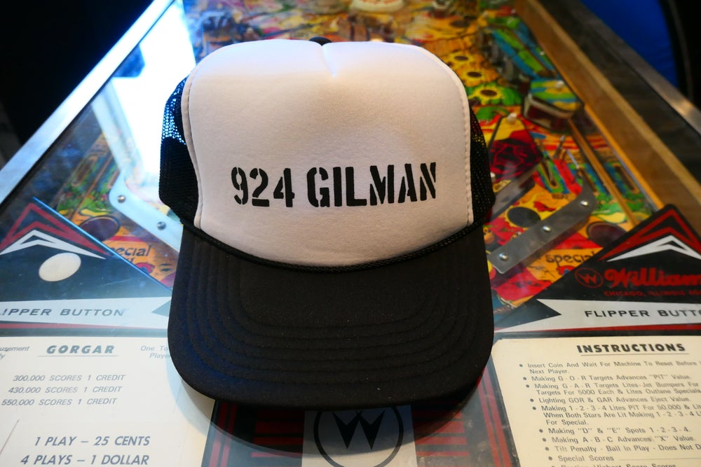 Image of 924 Gilman Truckers Cap Hat - White