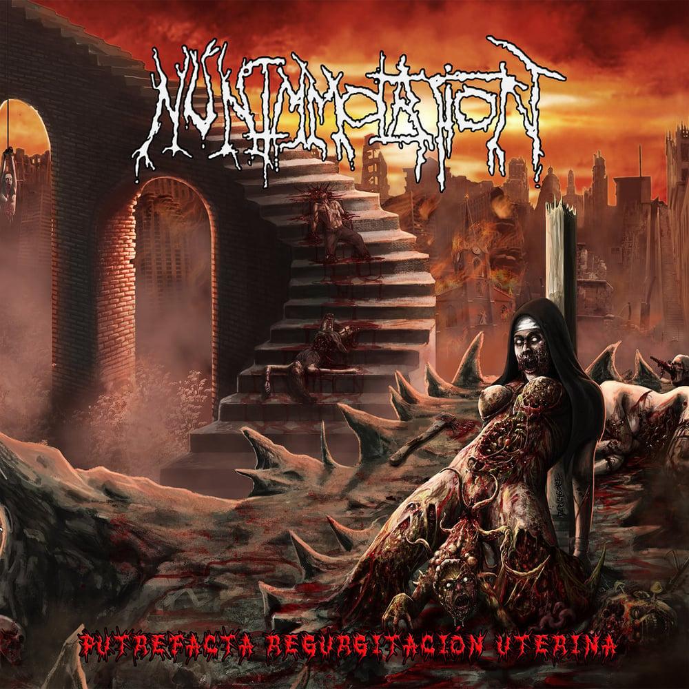 Image of Nun Immolation - Putrefacta Regurgitacion Uterina CD