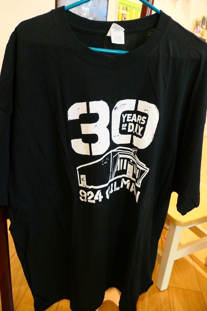 "Image of 924 Gilman ""30 Years of DIY"" Shirt"