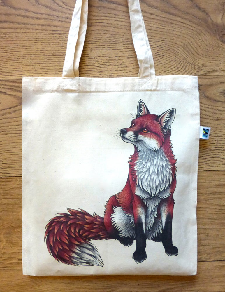 Image of Fox Tote Bag
