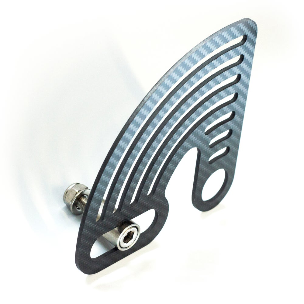 Steering stops / swing arm anchor