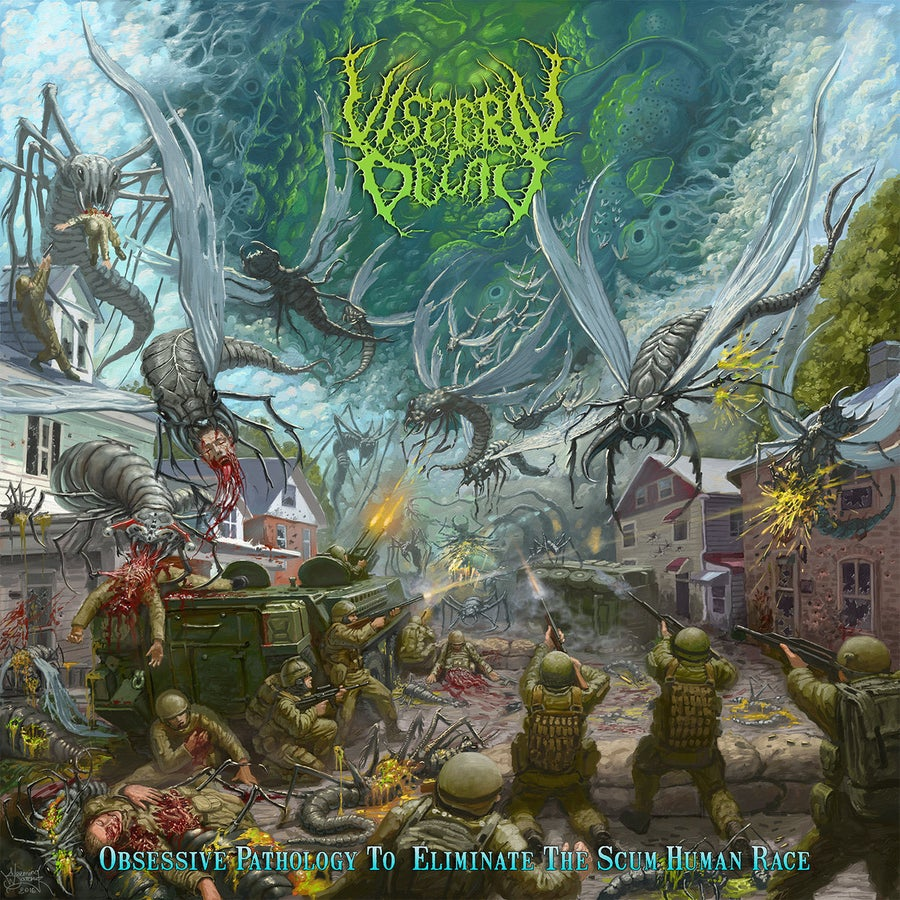 Image of Visceral Decay - Obsessive Pathology To Eliminate The Scum Human Race CD