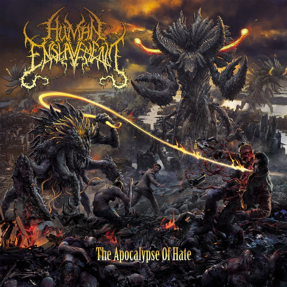 Image of Human Enslavement - The Apocalypse Of Hate CD