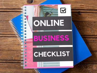 Image of Online Business Starter Checklist