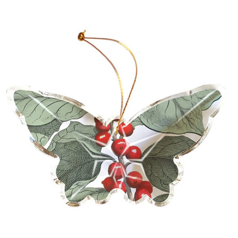 Image of Fringe Studio Christmas Crystal Ornament ~ Three Designs