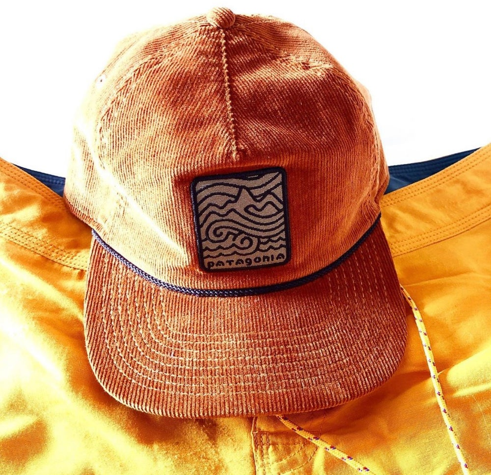 Image of Patagonia Framed Waves Cord Trucker Hat