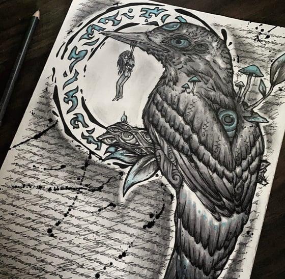 Image of Death breathes life- Prints & Original
