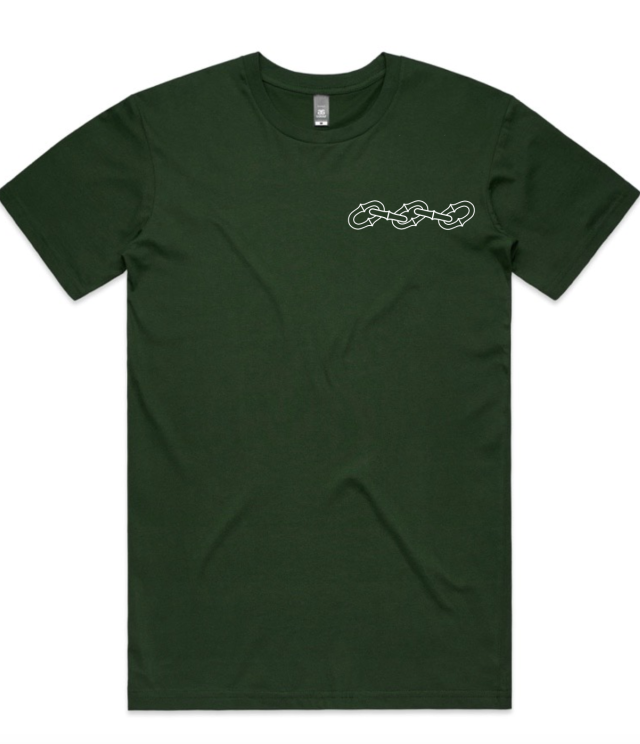 Image of Conspiracy Flail Tee (Green)
