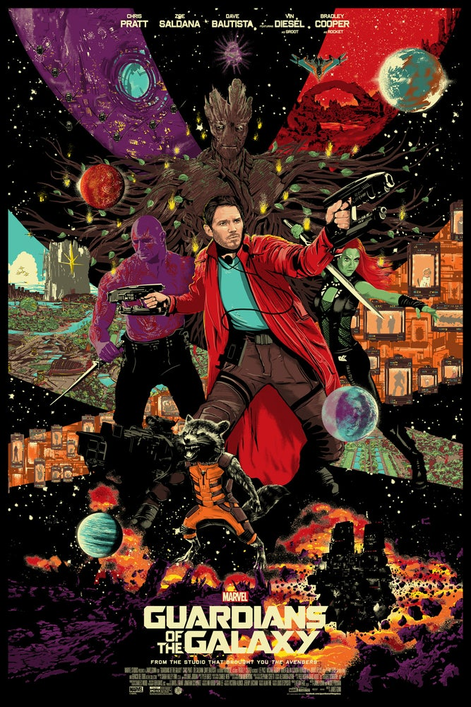 Image of Guardians of the Galaxy - variant