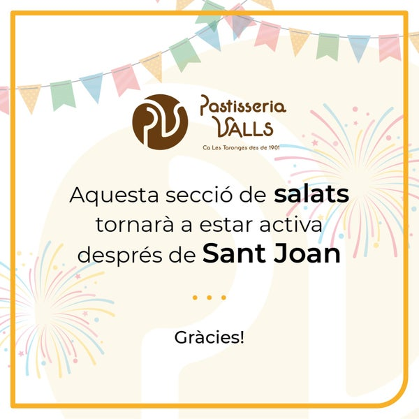 Image of PER SANT JOAN... COQUES DOLCES!
