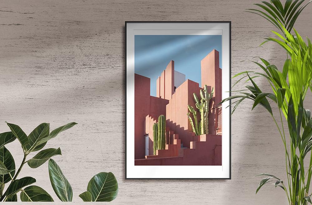 Muralla Roja Print VI