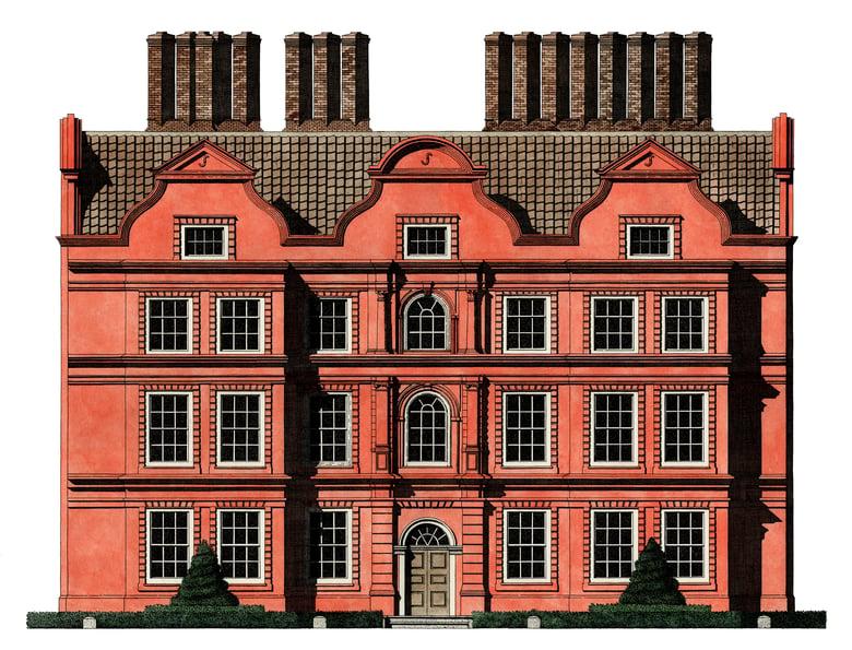 Image of Kew Palace, UK.