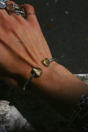 Image of Raw Crystal Bangle