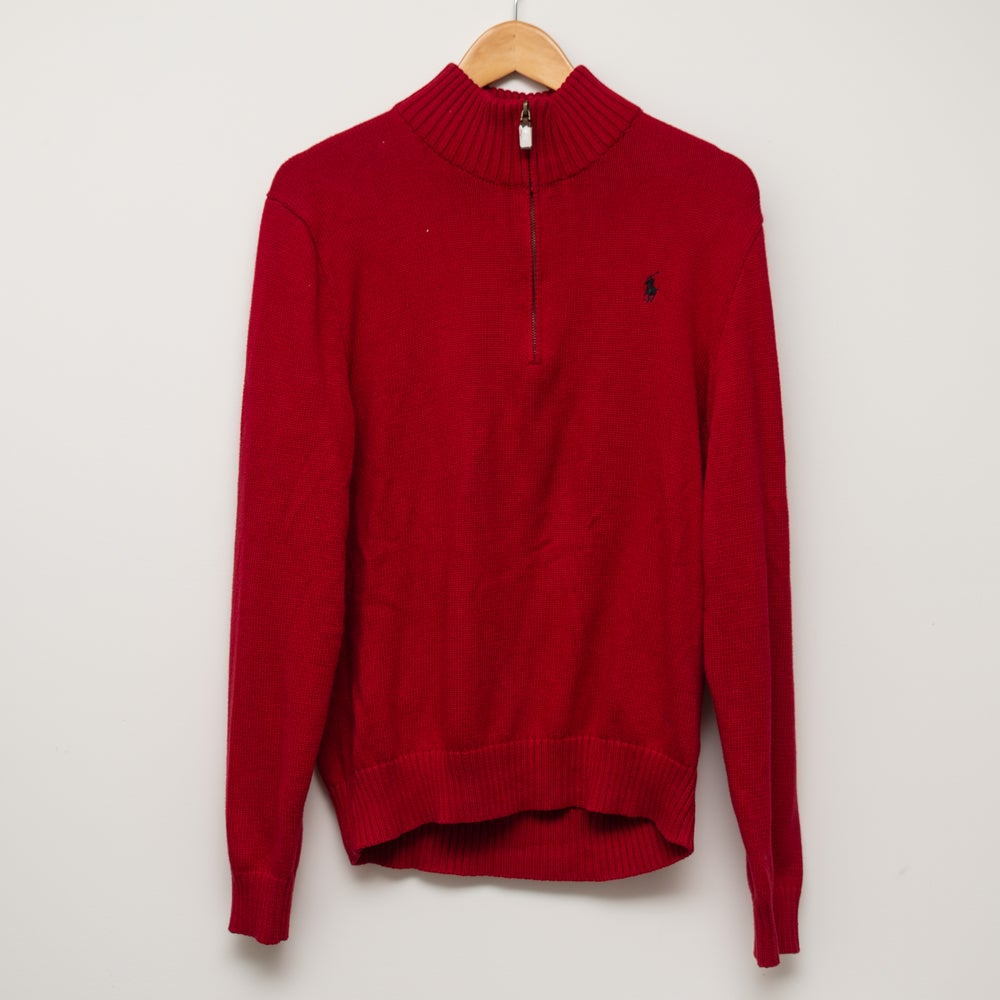 Image of Ralph Lauren Quarter Zip Sweater