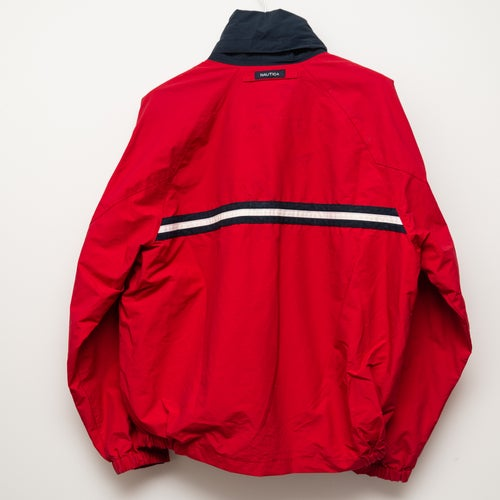 Image of Thick Nautica Jacket Red