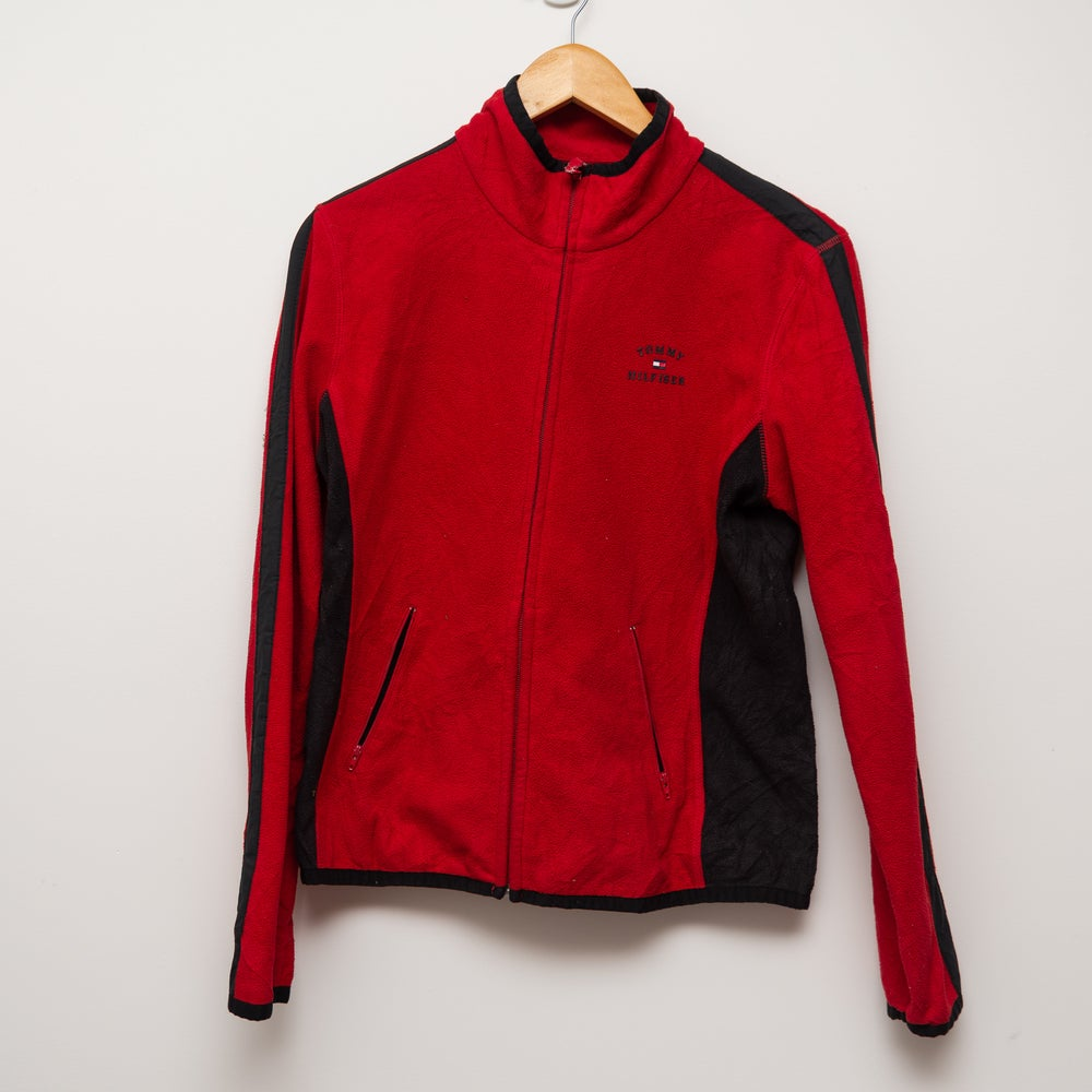 Image of Red Tommy Zip Up