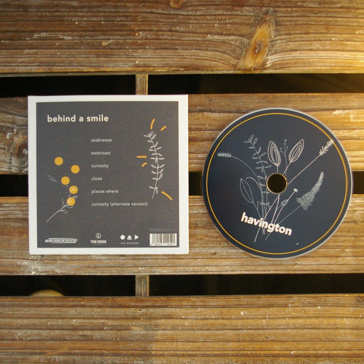 "Havington - ""Behind a Smile"" - EP CD"