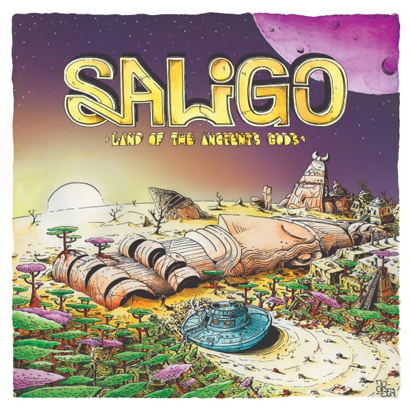 Image of Saligo - Land Of The Ancients Gods (VINYL)