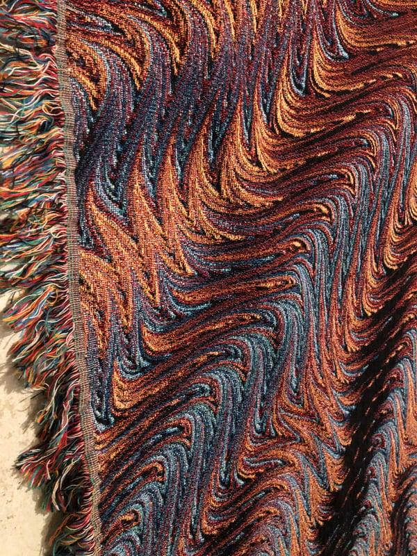 Image of Woven Blanket #7