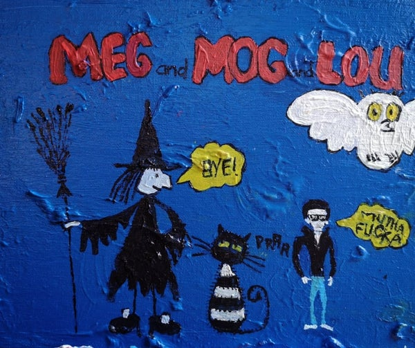 Image of Meg and Mog and Lou Reed