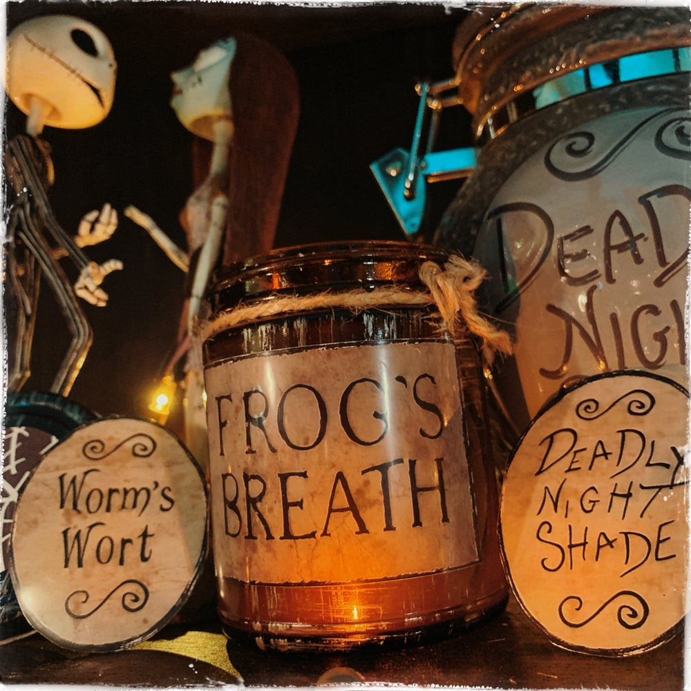 Image of Nightmare Before Christmas Potion Candle
