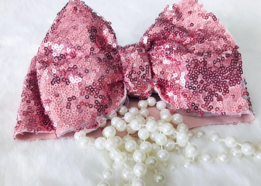 Image of Sequin Birthday Bow