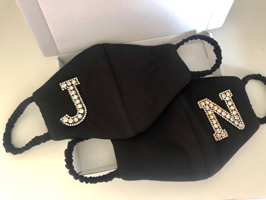 Image of Letter Fashion Facemask