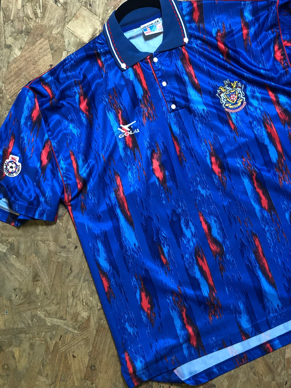 Image of Match Worn 1991/92 Gola Home Shirt