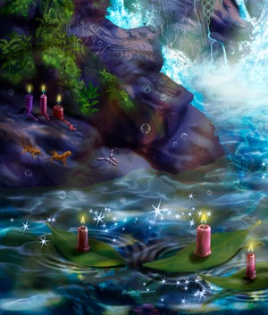 Image of Waterfall Spirits [Prints and Tapestries]