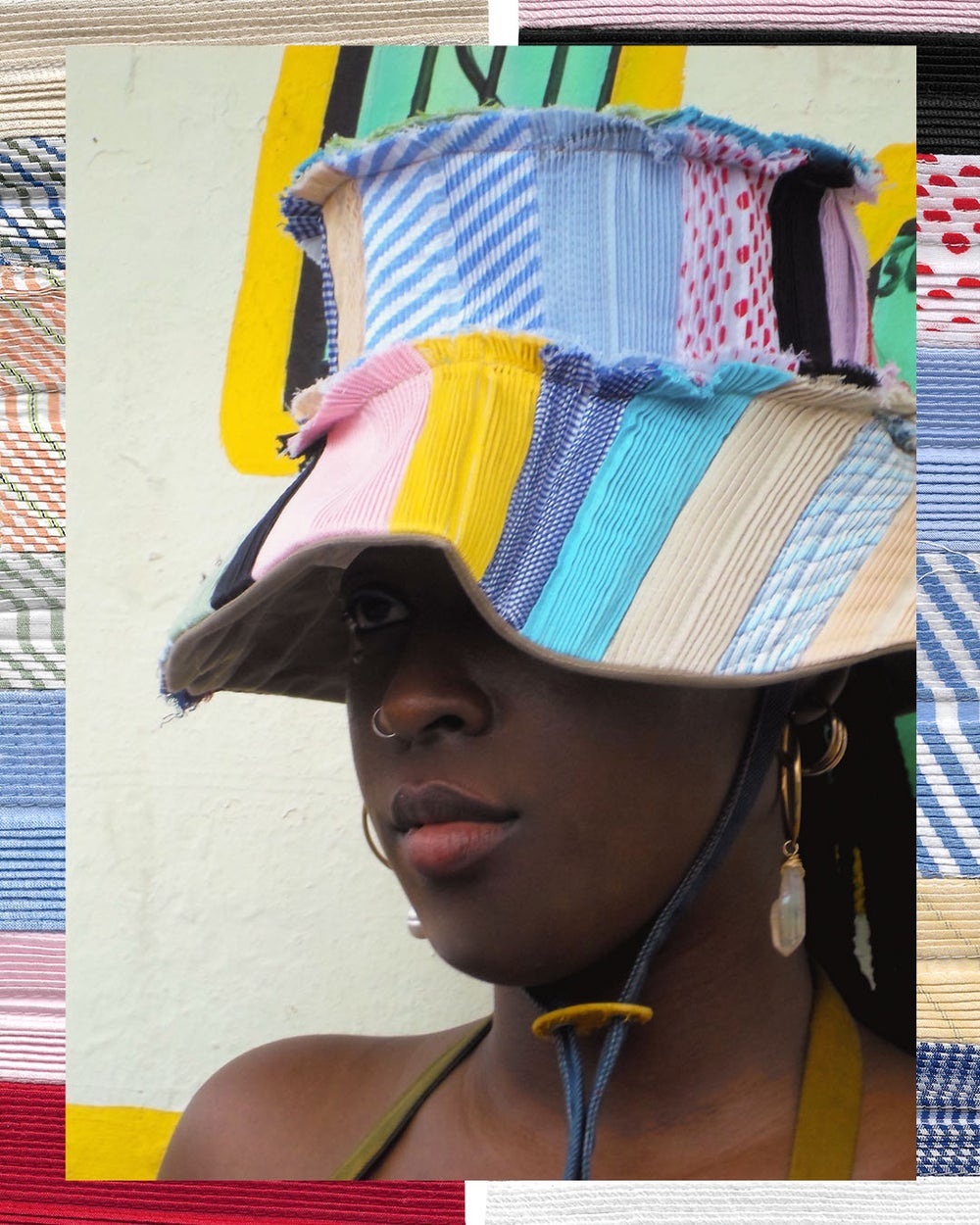 PRE-CONSUMER GARDEN HAT (ELONGATED BRIM)