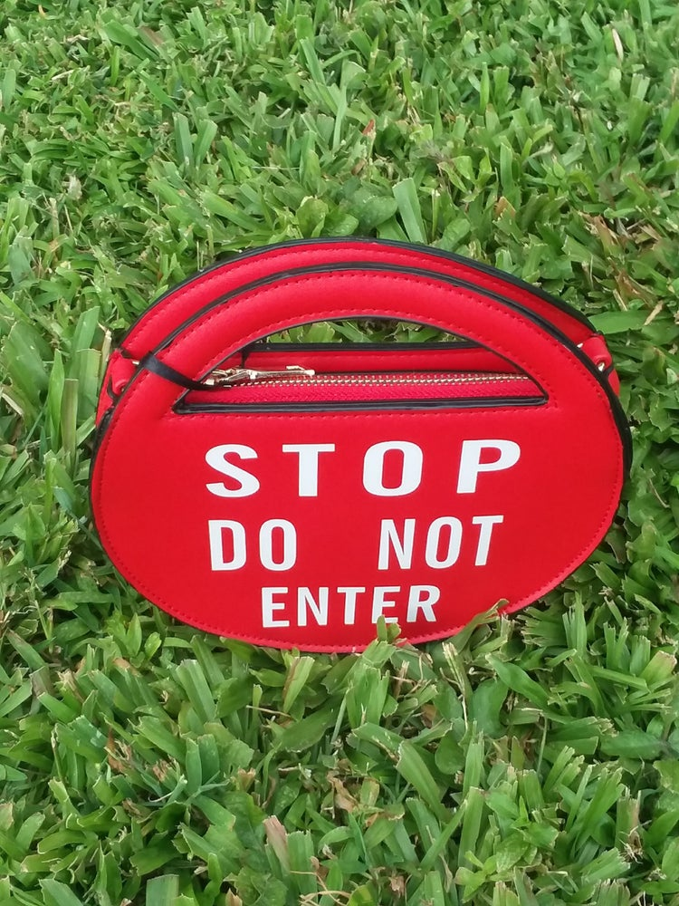 Image of Stop Do Not Enter Clutch