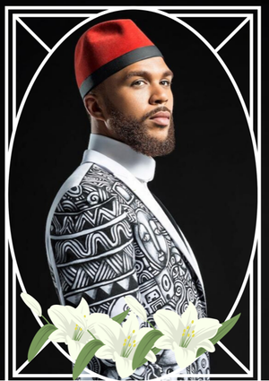 "Image of Jidenna ""Long Live The Chief"" Celebrity Prayeer Candle"
