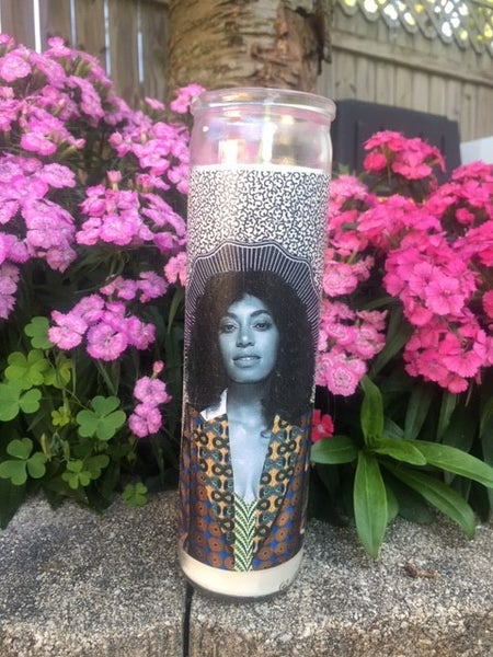 Image of Solange Knowles Celebrity Prayer Candle