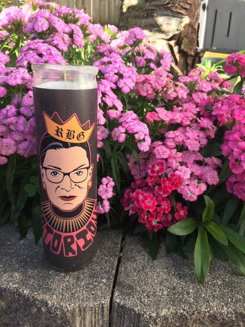 Image of Notorious RBG Celebrity Prayer Candle