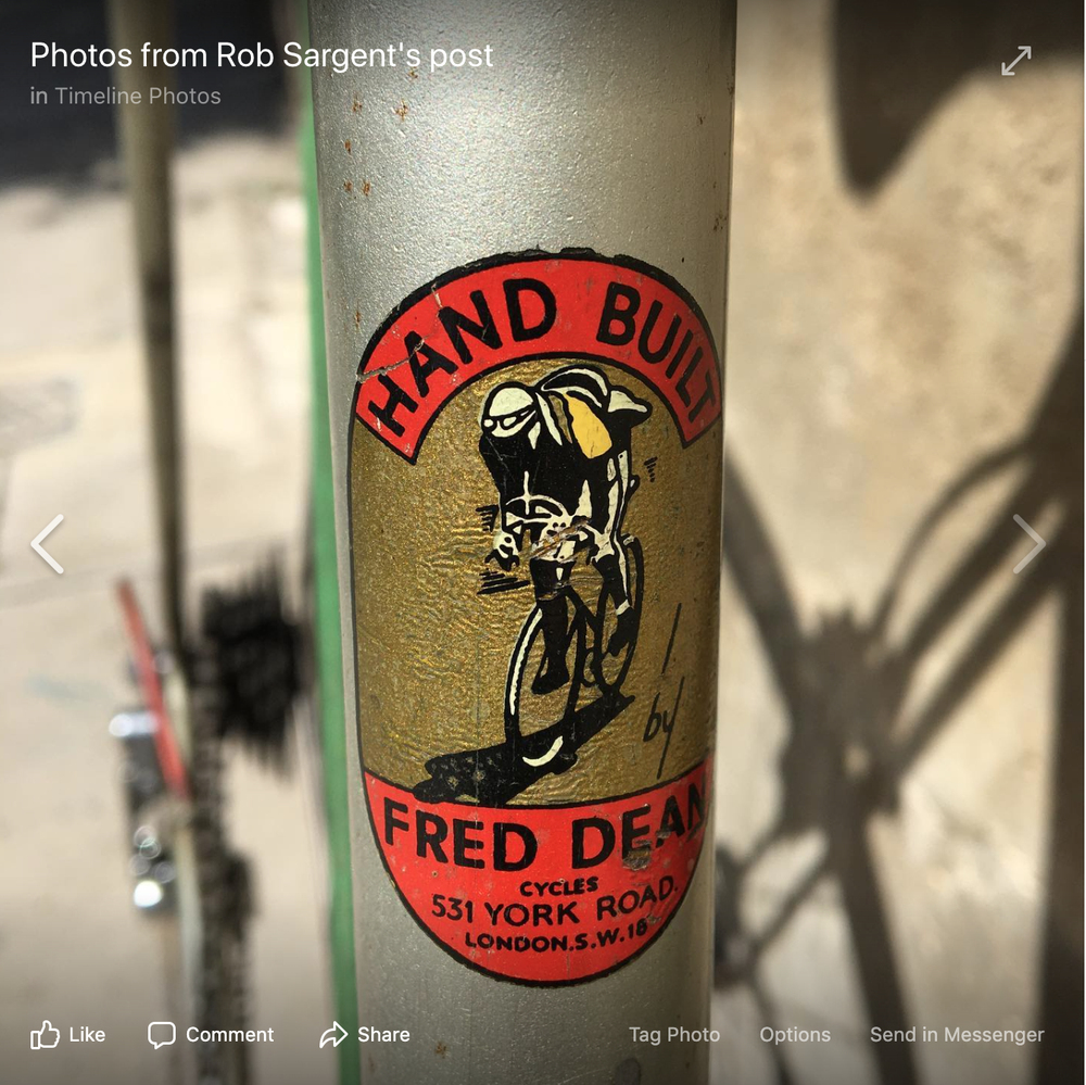 Image of Fred Dean 58-59 cm