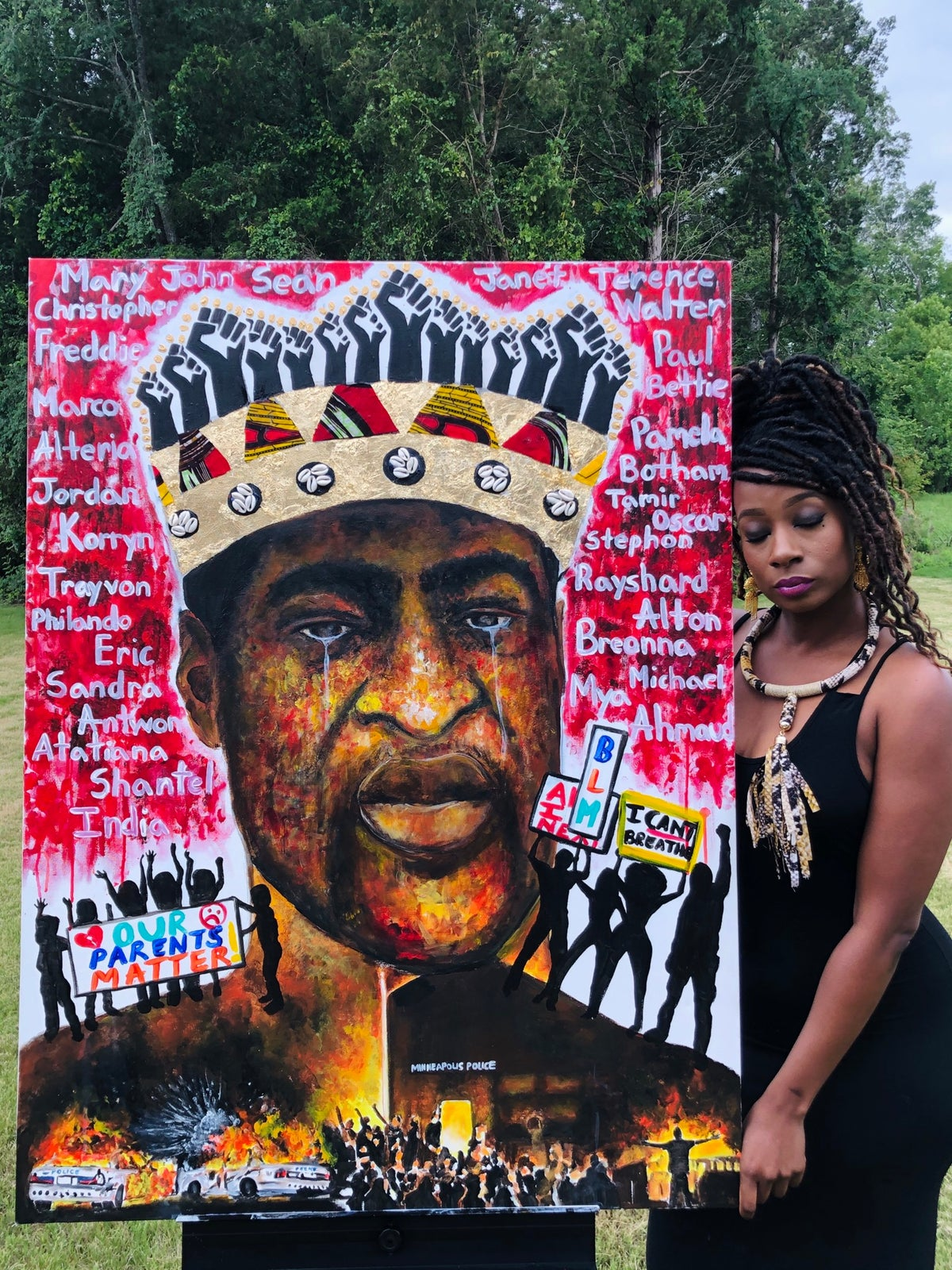 """Image of """"Bloodline Of Injustice""""  Limited Edition  Archival Print"""