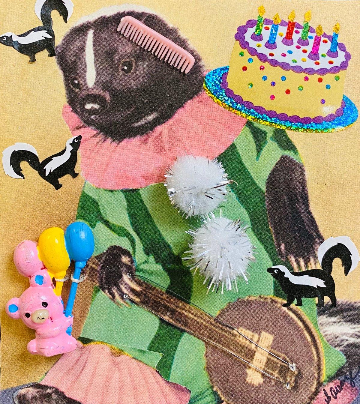 Banjo Skunk Birthday