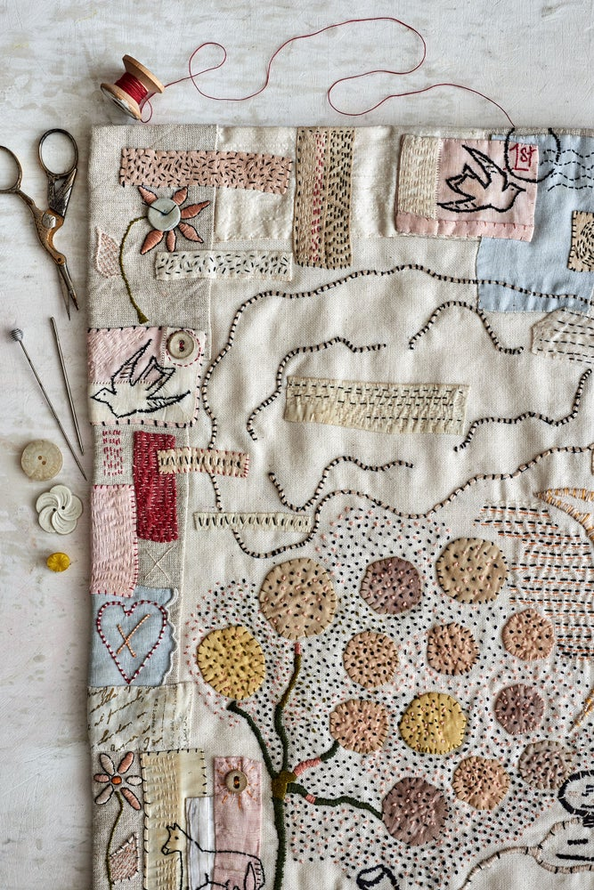 Image of PRE-ORDER 'The Jessie Chorley Embroidery Sampler' kit