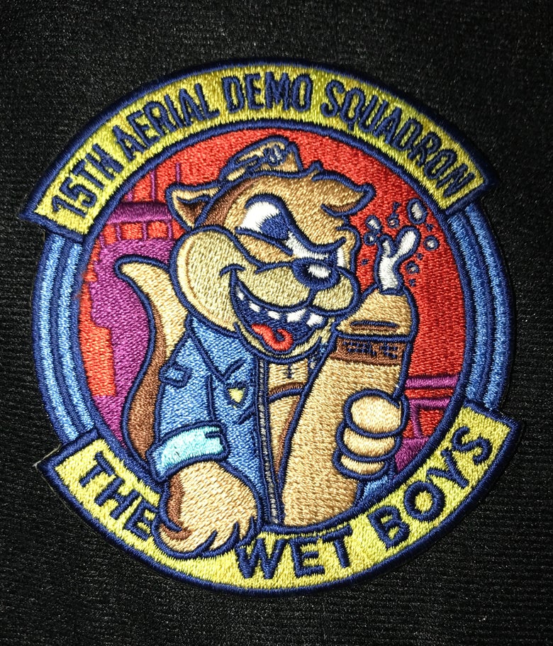 Image of THE WET BOYS Patch (PizzaStrike)