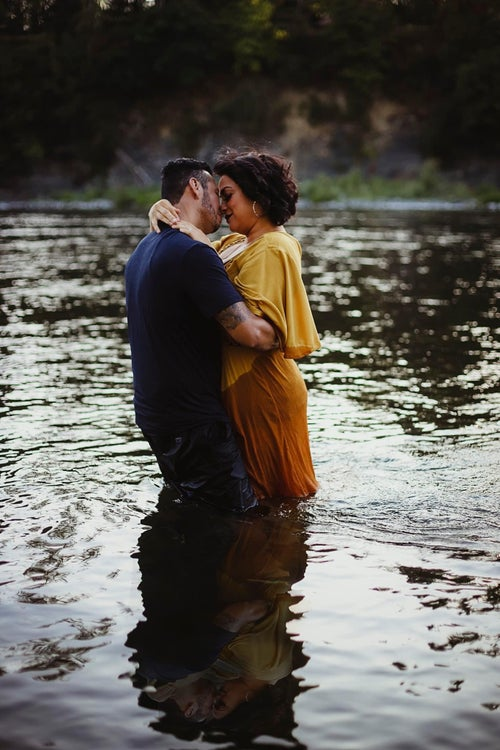 Image of Reserved for Hailee- couples River session