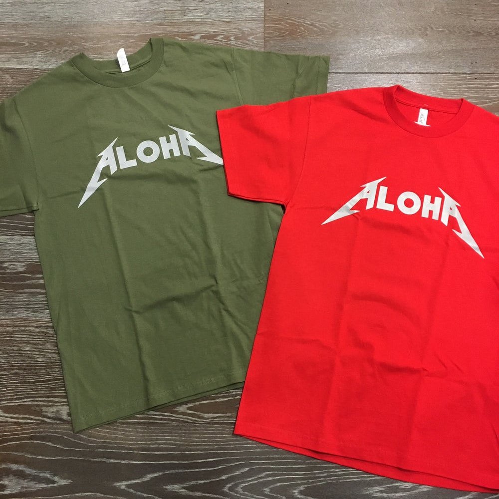 Image of ALOHA Reflective Men's T-shirt