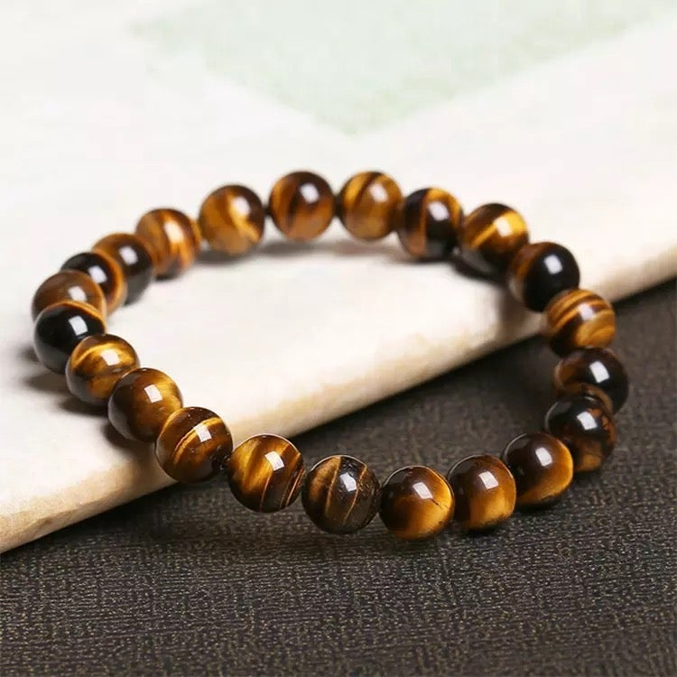 Image of Tigers eye natural stone bracelets