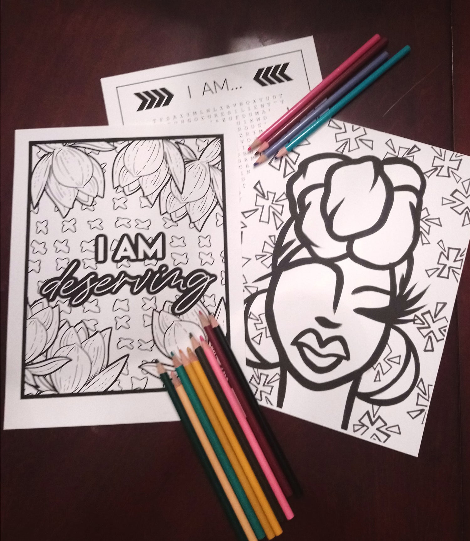 Image of The Dope I Am | Coloring Book