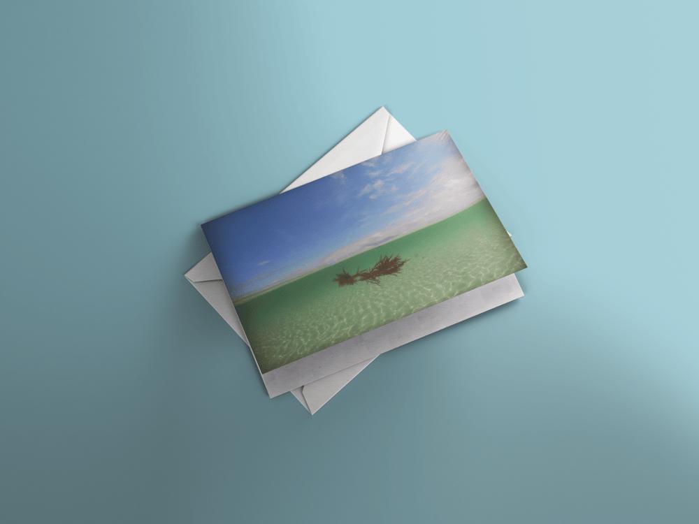 Image of A5 card - Caolas Annraidh, Isle of Iona