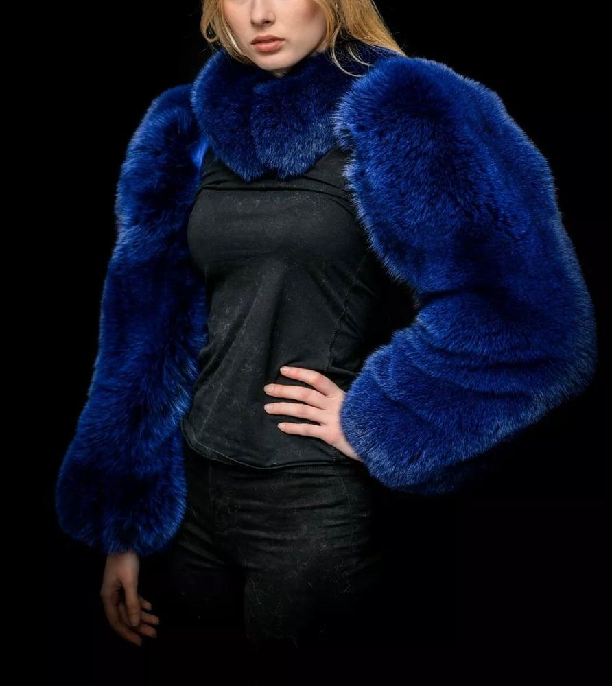 Image of Fox Fur Double Sleeve
