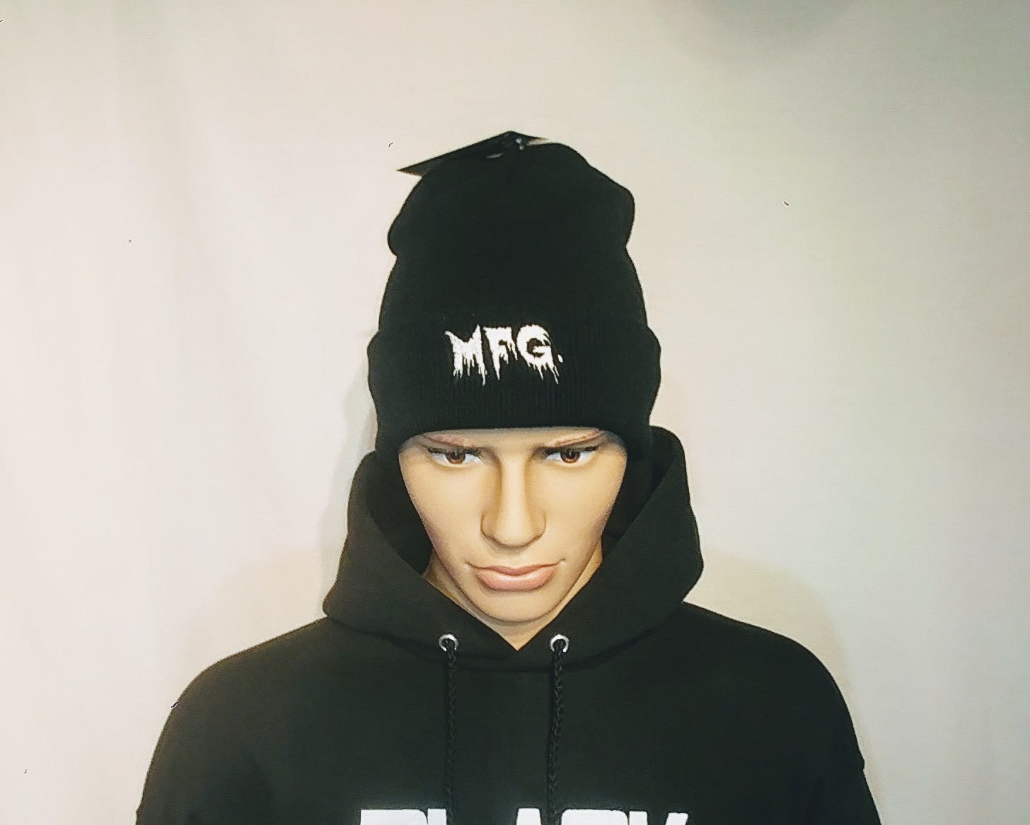 Image of Black Metal Mfg. Logo Beanies